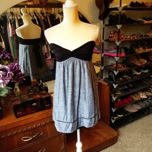 Forever 21 Strapless Mini Dress